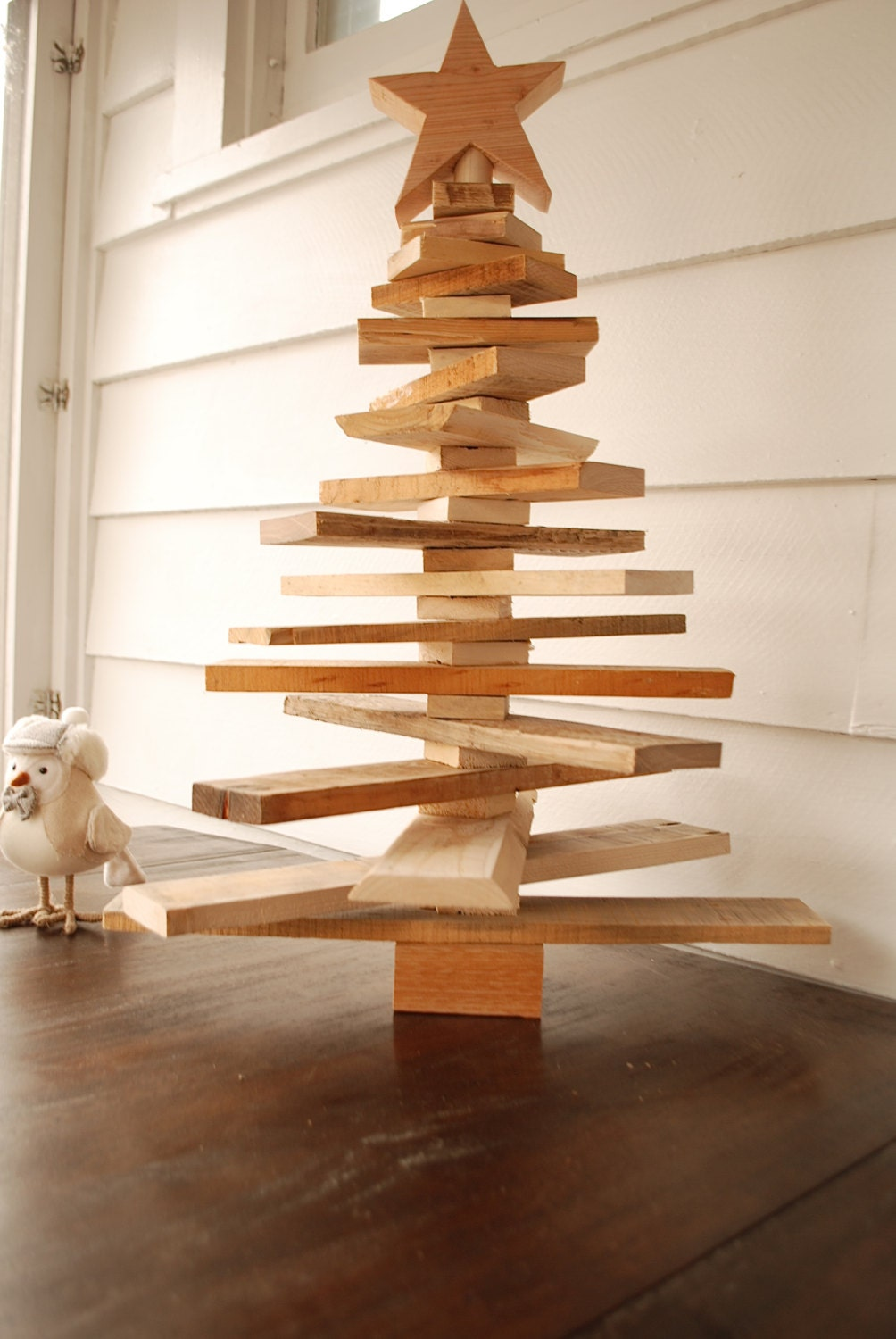 Pallet Christmas Tree Spaced Out Holiday Decor Pallet art