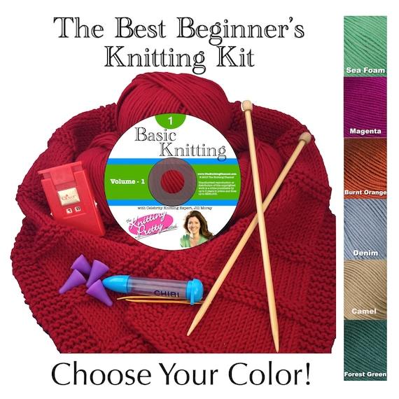 Knitting Kit For Beginners Walmart : The best beginner s knitting kit