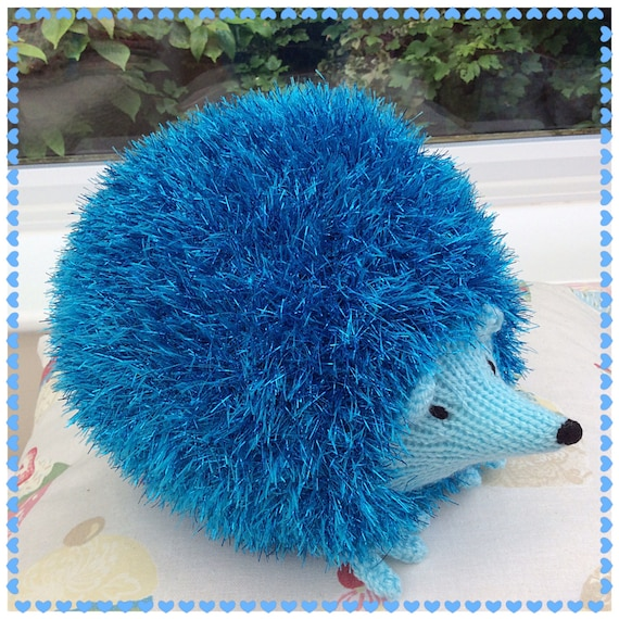 Tinsel Hedgehog Knitting Pattern : Knitted Hedgehog soft toy / knitted toys / soft toys / cute