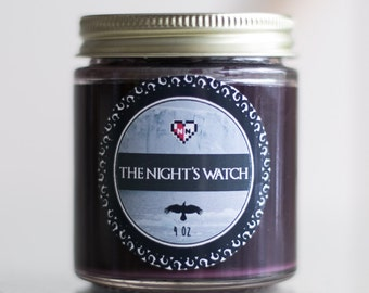 The Night's Watch Soy Blend Candle (4 oz.)