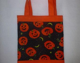Childrens Trick/Treat Halloween Tote Bag