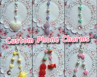 CUSTOM Phone Charms
