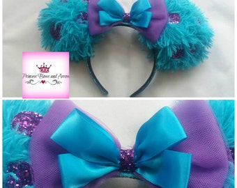 Monster Inc Minnie mouse inspired ears