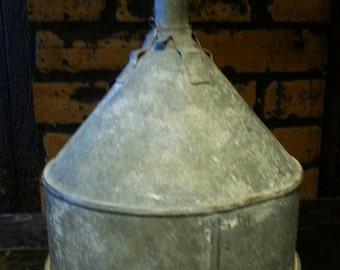 Rustic Old Metal Funnel