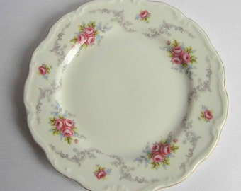 Royal Albert TRANQUILITY Bone China Salad Plate with 1969 Mark