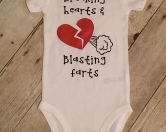 Breaking Hearts Bodysuit