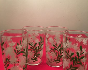 VTG Swank, Flower Juice Glasses