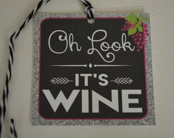 Oh Look, It's Wine Gift Tags - Wine Gift Tags - The Gift of Wine - The Wine Collection
