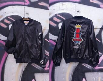 Vintage varsity jacket | Vintage silk jacket | BB Kings jacket | Blues Club jacket | Vintage Sports Jacket | Retro