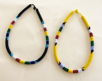 Zulu Beaded Rope Chain