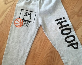 IHoop Open Bottom Sweatpants