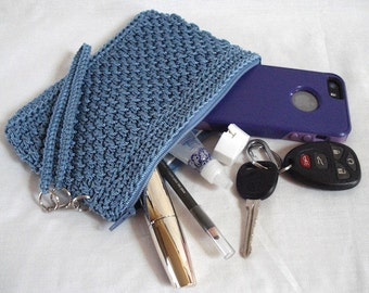 Clutch Crochet PATTERN | Wicker Weave | Crocheted Bag | Makeup Bag | Pencil Case | Crocheted Purse | Clutch | Gifts for Her | Accessory