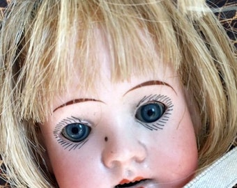 ANTIQUE GERMAN Bisque Doll E21 KESTNER Vintage 12 .5 inch