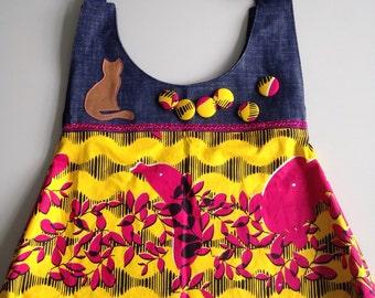 Yellow mr. Pussycat bag