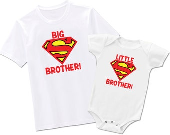 Big Brother Little Brother Superman - Each Sold Seperately