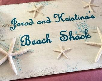Beach Shack sign