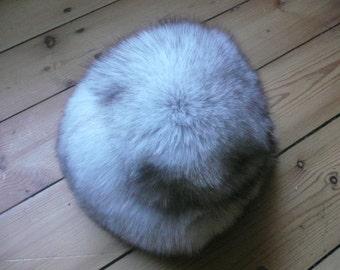 Vintage Fox Fur Hat - Natural Fox Fur Hat - Fox Fur - Gift for Her