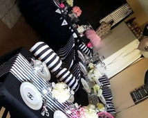 Coco Chanel No 5 Party In A Box- (Custom French, Paris, Personalized Theme)