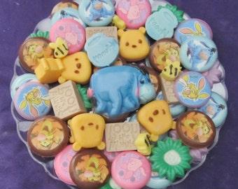 Honey Bear Character chocolates candy tray