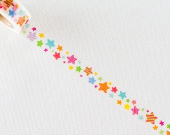 Tsutsumu masking tape- Stars