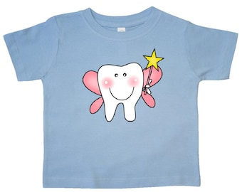 Tooth fairy wand etsy for Tooth fairy t shirt