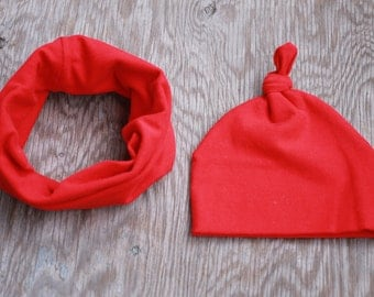 Hat & neck warmer