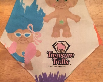 Vintage Treasure Troll bibdana