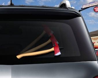 Fireman axe WiperTag wiper cover