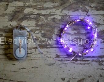 Micro Led Lights Party Lighting Purple Wedding Decor Violet Wedding Decor Lilac Decor