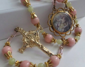 Artisan rosary and chaplet designs brass by for Rosary garden designs