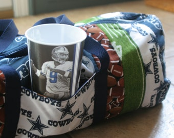 Dallas Cowboys Football Duffle Bag