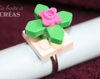 Creative Kit ring LEGO flower