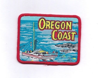 Vintage Oregon Coast Patch