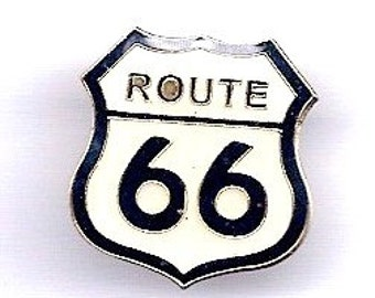 Vintage Route 66 Hat Pin
