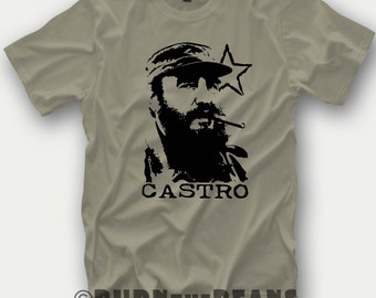 Fidel Castro t-shirt made in Greece for Cuba lovers tshirt S - 5XL