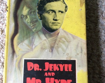 Vintage Dr Jekyll and Mr Hyde book