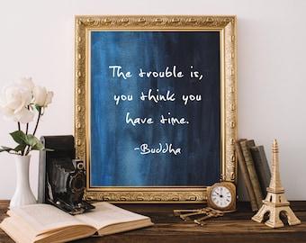 Buddha wall art/8 x 10 wall print/Buddha quotes/Printable word art/Wall art décor/Wall art quotes / prints 8 x 10 / Instant download