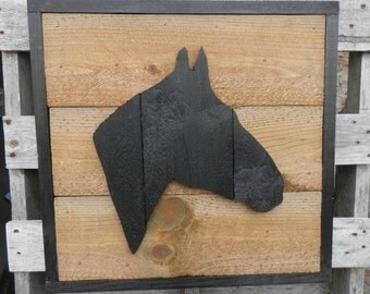 Father's Day Dimensional Horse silhouette framed pallet wood cutout  home decor wall art, Pallet wood sign,rustic country charm wall hanging