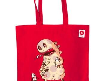 The Monsters Pluj bag