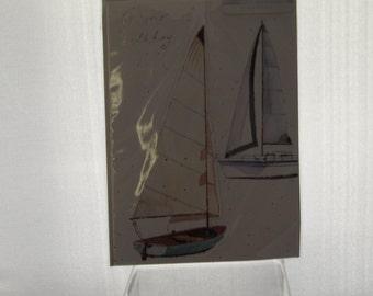2 Yachts Birthday Card