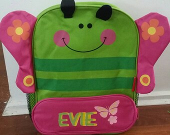 Personalised kids character backpack
