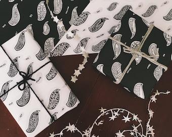 Chatty Birds Gift Wrap