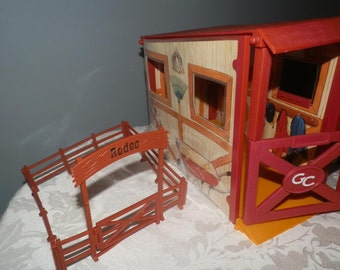 Grand Champion Horse Stall Barn Collectible