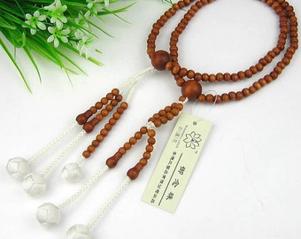 SGI style Juzu, traditionally woven beads handicraft, Jujube wood nenju malas, free shipping to world