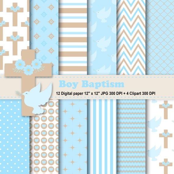 Boy baptism digital paper boy baptism clipart baptism boy baptism digital paper boy baptism clipart baptism background baptism invitation baptism digital paper pattern commercial use stopboris