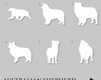 Australian Shepherd Decal