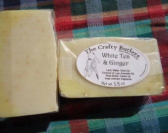 White Tea & Ginger Handcrafted Soap