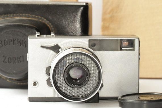 USSR Zorki-10 Rare Vintage Soviet Rangefinder Camera & Case ж
