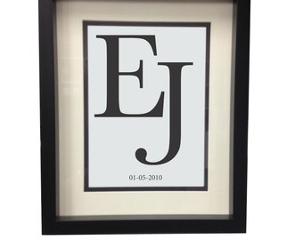 PERSONALISED LETTERS PRINT