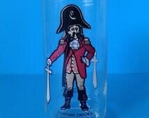 "Vintage Collectors Glass "" Captain Crook "" 1970's McDonalds Advertising"
